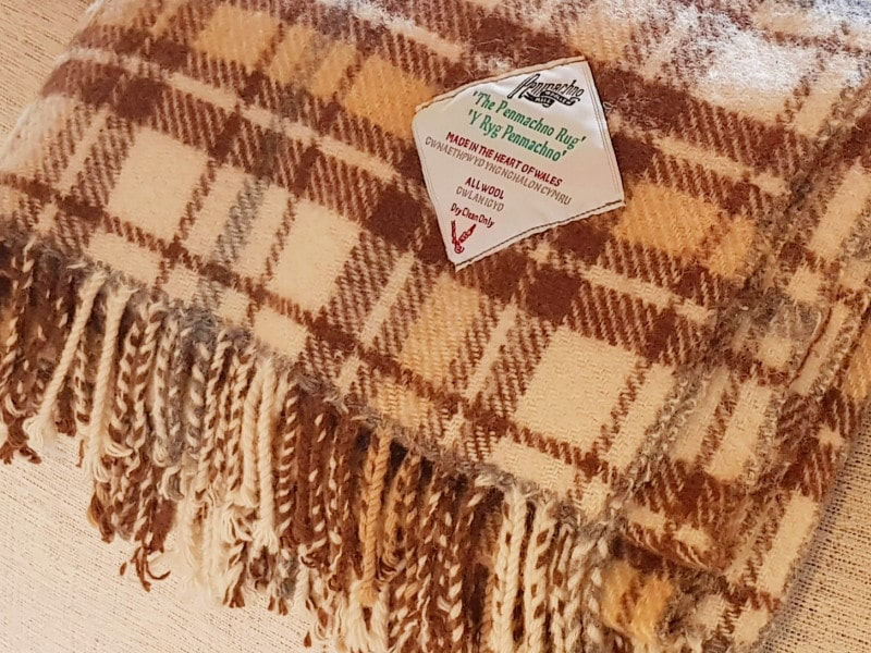A very special rug from Penmachno Woolen Mill